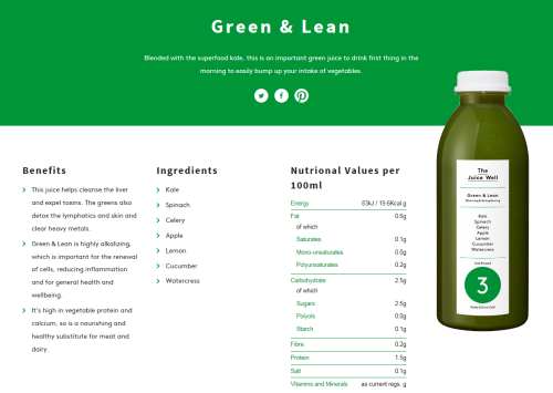 Green and Lean