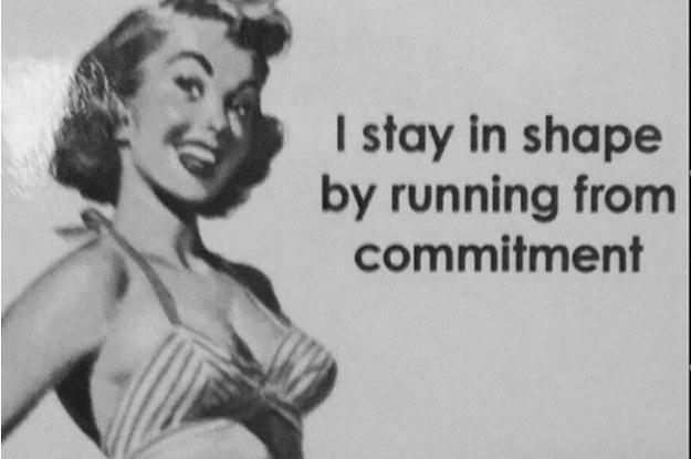 The commitment phobe